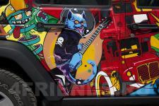 Аэрография Jeep Wrangler AcidArt - рисунок 3