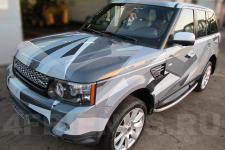 аэрография Range Rover Композиция   - фотография 1