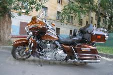 мотоцикл Harley Davidson-аэрография 1
